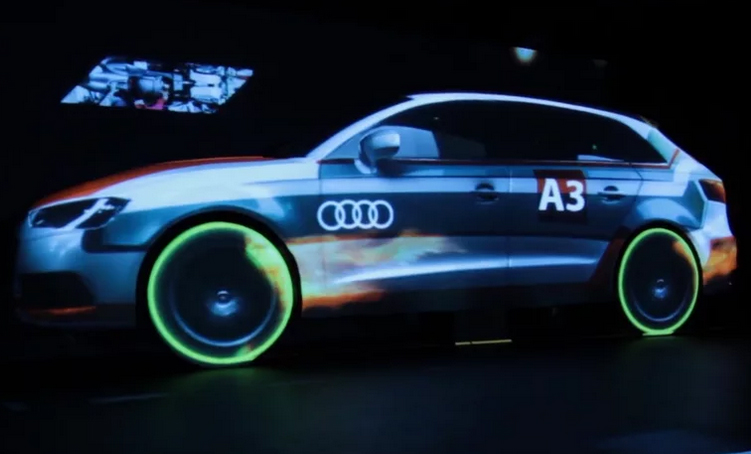 Audi Mapping Video
